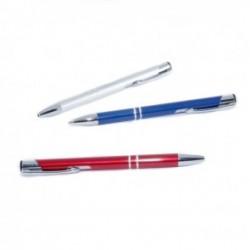 Bolígrafo aluminio de colores