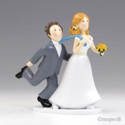 Figura pastel boda -Sí o...