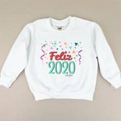 Sudadera Navideña Feliz 2020