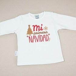 Camiseta Divertida Bebé...
