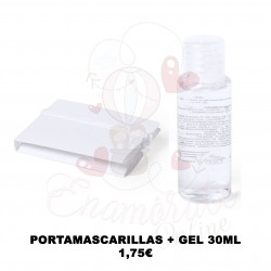 PORTAMASCARILLAS + GEL 30ML