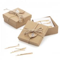 Caja regalo con pasadores...